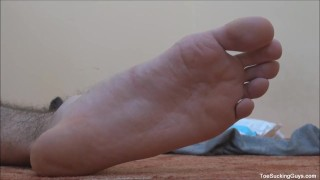 Horny Twink With A Foot Fetish Masturbate real