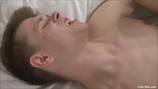 Dick fuck uncut buddy's playing gay handjob big