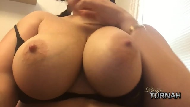 Paige big boobs - British pawg paige turnah wants you to jerk off to her boobs
