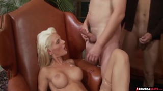 Birthday Party Gangbang Mom fuck