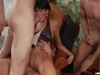 Preview 5 of Birthday Party Gangbang
