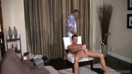 Straight Guy Gets Tricked On Casting Couch