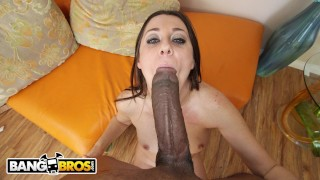 BANGBROS - Jack Napier Obliterates Brooklyn Jade's Tight Pussy With BBC Mouth fpov
