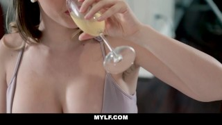 Busty gets mylf plunged by milf young cock tits dick