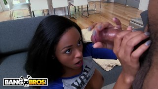 BANGBROS - Precious Little Anya Ivy Gets Ravaged By Big Black Dick Fake yoga