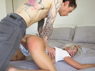 Khloe Kapri Passionate rough fuck squirting on cock and creampie