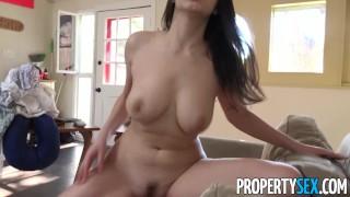 Couch hot propertysex italian fucks busty american surfer host butt boobs
