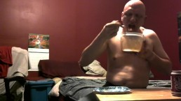 piggy feeding belly stuffing soda chug 10/16/18