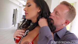 Jules Jordan Amia Miley Is Jules Jordan's Slut Puppy In 4K porno