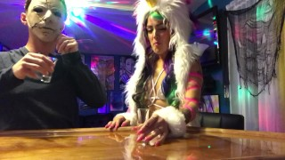 Deadpool rides a unicorn, My Slut wife gets fucked at a Halloween party Pov cheating