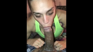 Pov deepthroat extra sloppy blowjob hands no hands of