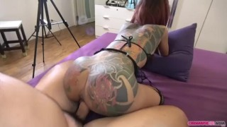 Innocence ruined by Japanese sex tourist Creampie riding