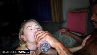 BLACKEDRAW Middle America Teen Fucks The First Black Guy She Sees Hardcore bigcock