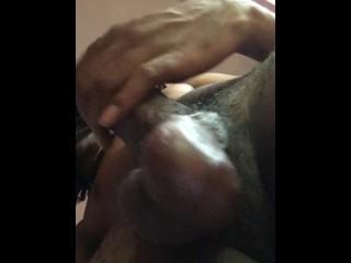 cock rubbing prt2 big balls