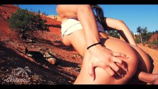 Couple français baise en randonnée - Amateur Sextwoo -