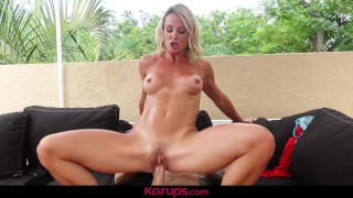 Karups - Sexy MILF Sydney Hail Fucks Younger Guy