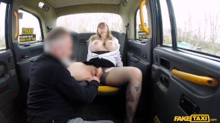 Fake Taxi - Busty passenger gives good tit wank