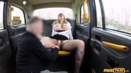 Fake Taxi - Busty passenger gives good tit wank