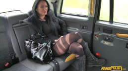Fake Taxi - Local escort fucks taxi man on her way to a client