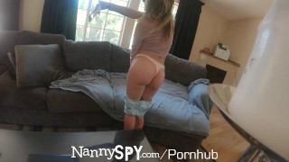 Nanny guilty webcam caught on nannyspy 60fps facial