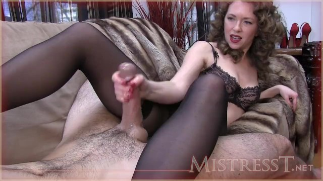 Older hand jobs in pantyhose - Hand job whilst sniffing pantys and feet