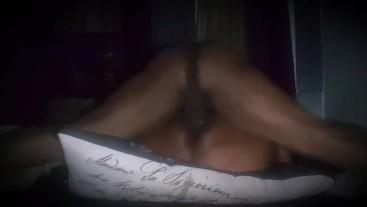 Ebony BBW cream on my dick!!!