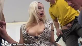 DogHouse Czech MILF Anally Creampied After Gangbang!! Mouth sex