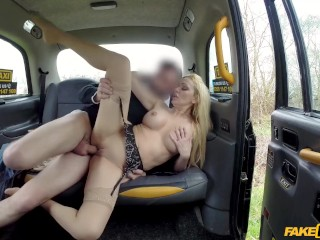 Brazil top porn stars fake taxi driver gets more than a flash, faketaxi milf blonde public car sex