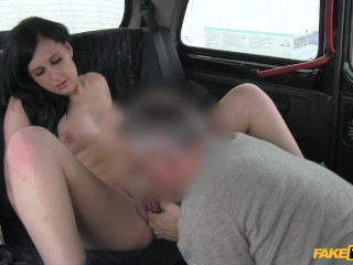 Bree olson pov fuck fake taxi with no cash this pretty babe swallows up all of cabbies cock, hardcore sucking babe taxi big cock natural