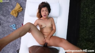 Creampie year old asian for petite first casting