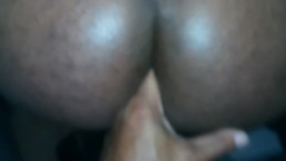 Deep Two Finger Fucking A Hairy Daddy's Ass !!!!