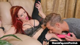 Hot Housewife Shanda Fay Gets Sucked Off & Cums On Lucky Guy