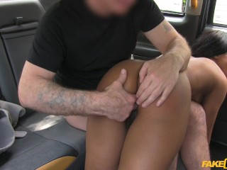 Beeg horny milf fake taxi naked woman in london taxi swallows drivers spunk, brunette ebony big sagg