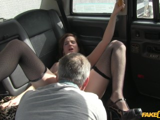 Best remote control sex toys fake taxi hot northern model hops in the cab, faketaxi natural tits big cock blowjob trimmed