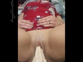 Little pussy wreaked by Belladonna's magic hand