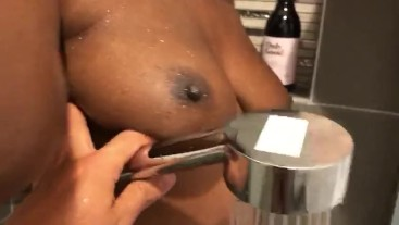 Perving on Princess Amanie in Shower | Big Wet Busty Teen Booty | Quick Spy