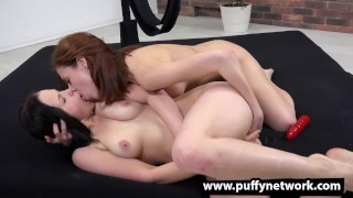 Anal Babes - Ass rimming and dildo fun for hotties Big curvy