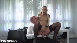 Glamkore - Czech Blonde Lola Blond gets fucked doggystyle