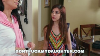 DON'T FUCK MY DAUGHTER - Step Mom Rachel Starr Punishes Sally Squirt Girl anal