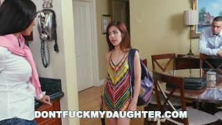 DON'T FUCK MY DAUGHTER - Step Mom Rachel Starr Punishes Sally Squirt porno