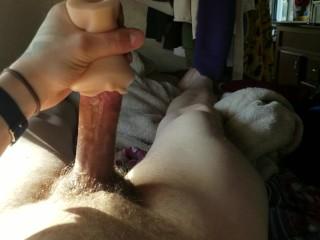Guy fucks pocket pussy