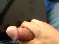 Jerking off in public