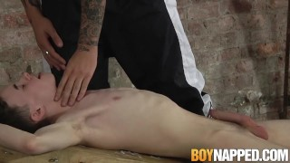 Blowjob receives from his twink master candle slave waxed tyler fetish