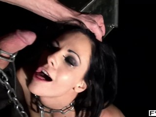 Angelina castro slim bdsm slut liz fucked balls deep while in chains & screaming for more, fuckinhd kink fuckin hd ddf porn
