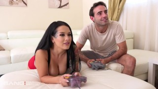 Trickery - Step brother fucks sister Katrina Jade Spanking hard