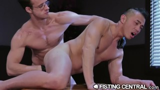 FistingCentral The Fist My Boss Gives Me After Work Hours Uncensored hairy