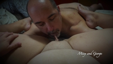 POV Pussy Eating - Real Married Couple Cunnilingus