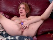 Athena Rayne opens up her pussy for you