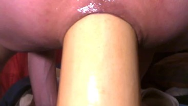 butternut squash stretching my ass close up