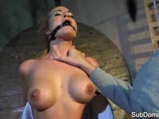 British virgin islands sailing charter gagged babe orgasms during bondage, femdum adult toys domination bdsm babe